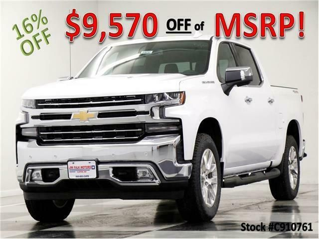 Ebay Advertisement 2019 Silverado 1500 Msrp 60565 Ltz 4x4 Crew