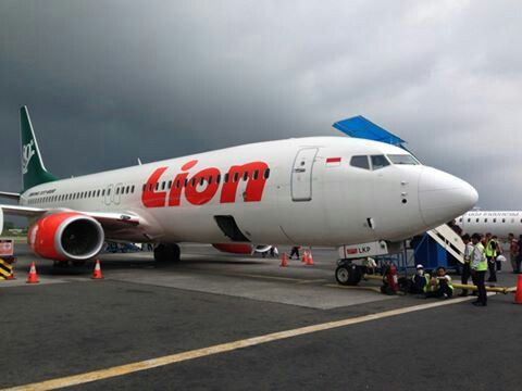 Lion air in Adisutjipto airport
