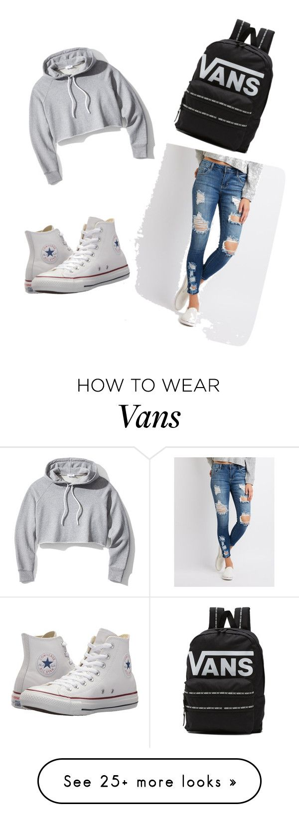 """""""comfortable clothes"""" by g0810169 on Polyvore featuring Frame, Cello, Converse, Vans and jumpsuits"""