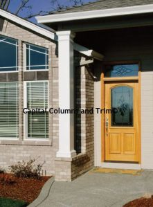 Capital Columns Trim Square fiberglass column installation