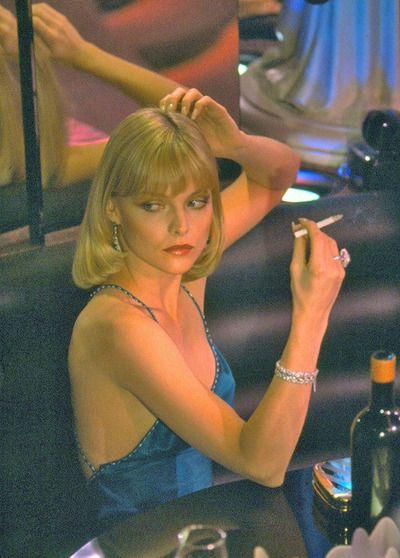 Michelle Pfeifer as Elvira in Scarface