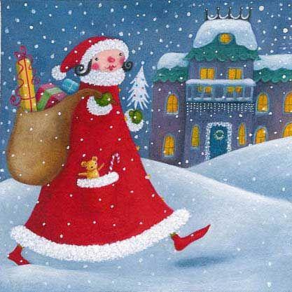 Mrs Santa - Susan Mitchell