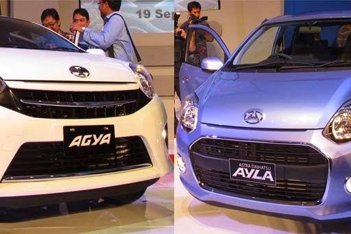Toyota Agya dan Daihatsu Ayla Udah Masuk di Pasar Mobil Bekas