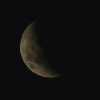 Moon - Taken with a Nikon P500
