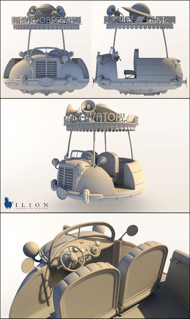eduardo berazaluce: 3d artist and illustrator | Planet51_workshop