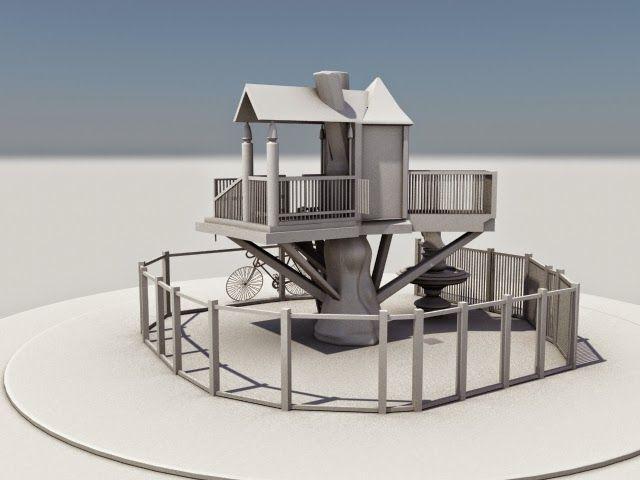 Tree house modeling