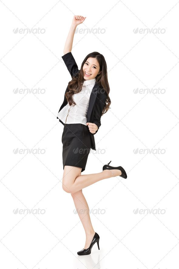 Excited Asian business woman ...  20s, asia, asian, attractive, beautiful, beauty, business, businesswoman, career, challenge, cheerful, china, chinese, confidence, confident, dancing, east, employee, employment, entrepreneur, exciting, executive, female, free, freedom, friendly, full, glad, happy, isolated, japanese, job, joy, korean, lady, length, looking, manager, occupation, portrait, positive, positivity, relax, secretary, smile, success, successful, surprised, woman, young