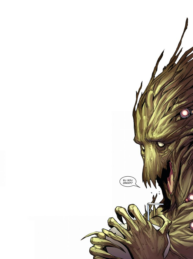 """""""Eu sou Groot!"""""""