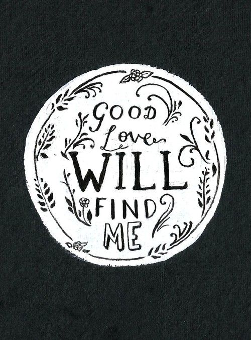 I hope someday I will let myself be loved again and this time things will work out :)