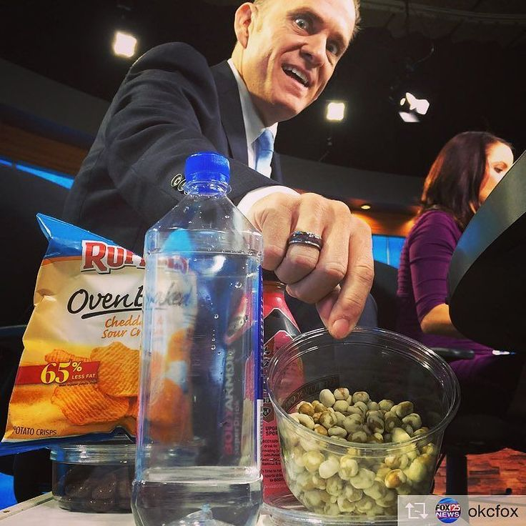 #secrets revealed. Fortified with 9 essential #vitamins and #minerals. #wasabipeas @okcfox #okc #news #tvmornings