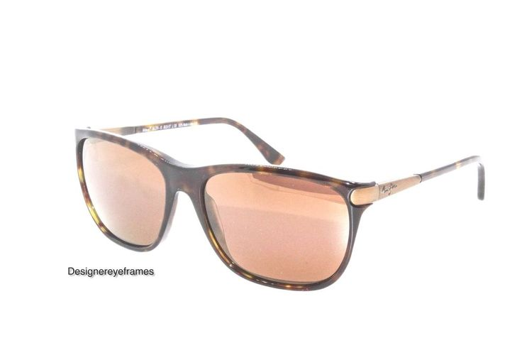 MAUI JIM KUPONO MJ 274-10 Havana Bronze Polarized SUNGLASSES AUTH NWC MJ274-10 #MauiJim