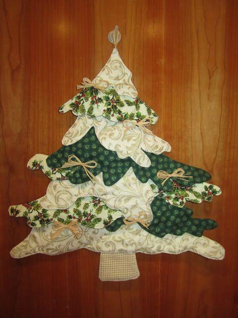 Arbre de Nadal de patchwork // Arbol de Navidad de patchwork // Patchwork Christmas tree