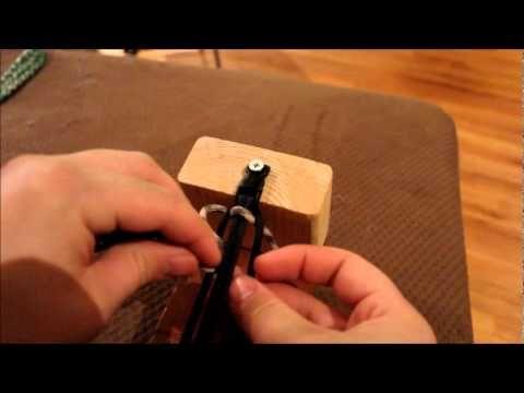 Paracord over under / Ladder rack / Trilobite bracelet tutorial!