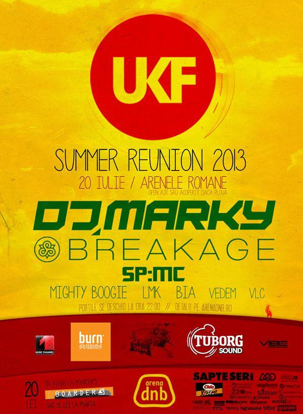 Summer Reunion Drum'n'Bass la Arenele Romane, pe 20 iulie