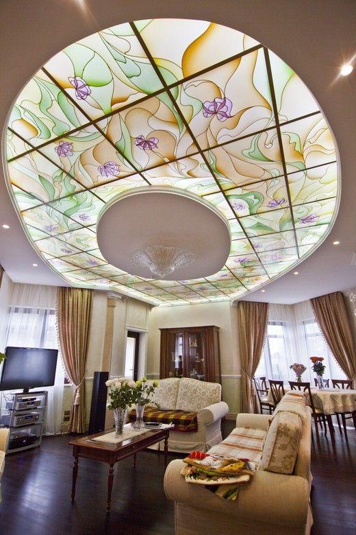 Стеклянный потолок. Гостиная