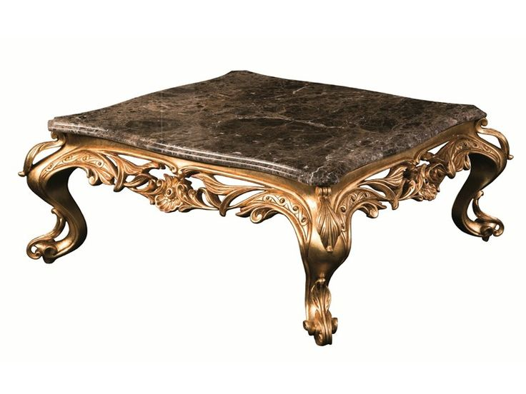 Square marble coffee table for living room OLEANDRO Éclectique - Donna Mantellassi Collection by Mantellassi 1926