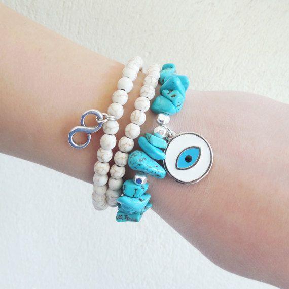 greek jewelry greek evil eye turquoise gemstone semi