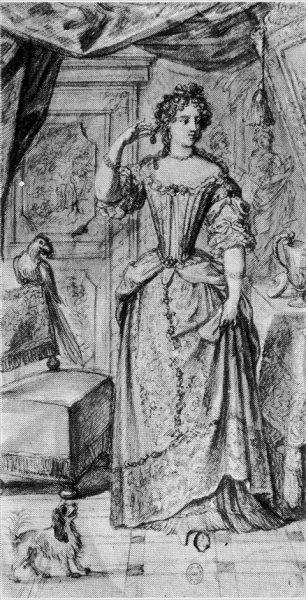 1682 Princesse Marie-Thérèse de Bourbon-Condé, Mademoiselle de ...