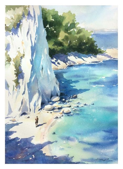 Paint in watercolor