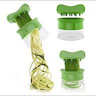 Vegetable Spiralizer Carrot Cucumber Slicer Spaghetti Salad Maker Fruit Cutter Cheese Kitchen
