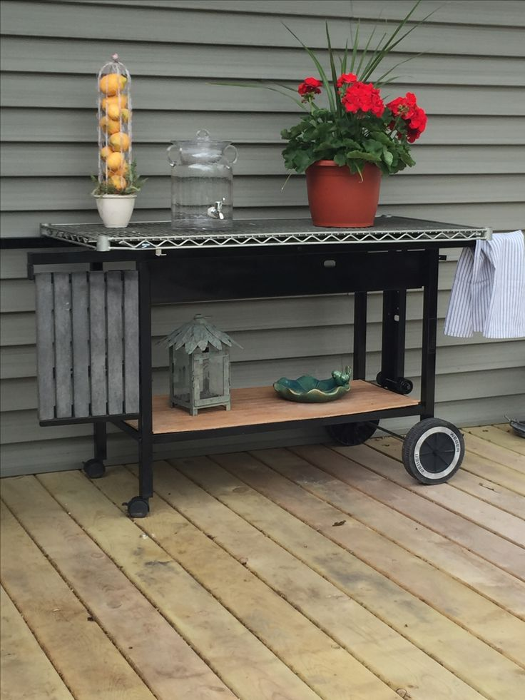 Transformed My Old Gas Grill Into This Great Multipurpose