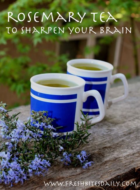 Sharpen your brain with this simple tea