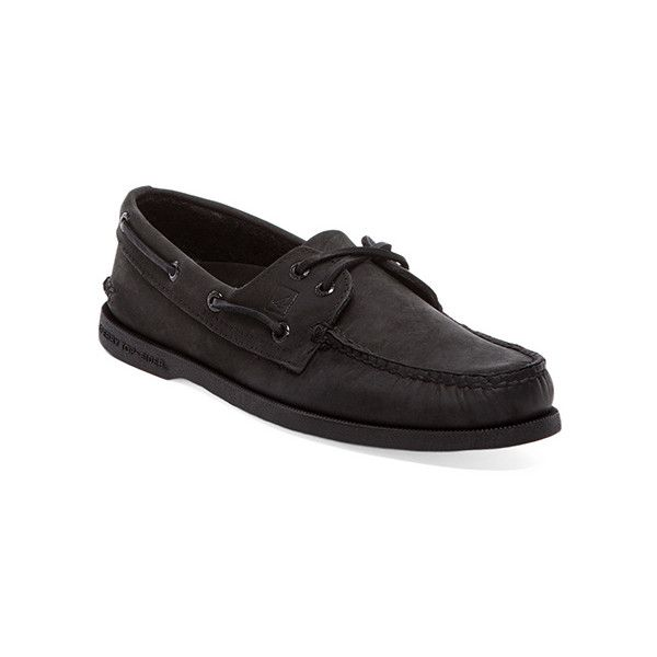 Sperry Top-Sider A/O (€90) ❤ liked on Polyvore featuring men's fashion, men's shoes, men, sperry mens shoes, mens shoes and mens lace up shoes