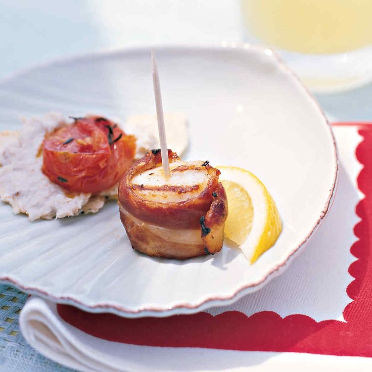 With just a few ingredients, these quick-cooking skewers become an elegant starter to stave off hunger or an easy addition to any grilled menu.