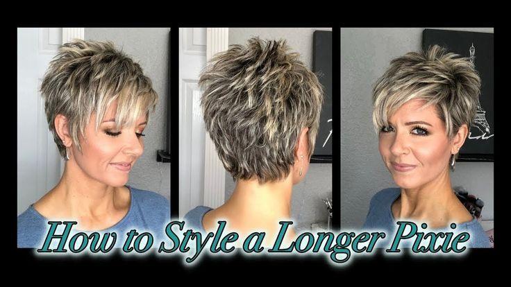 Haar-Tutorial: Einen längeren Pixie ohne Spikes stylen!