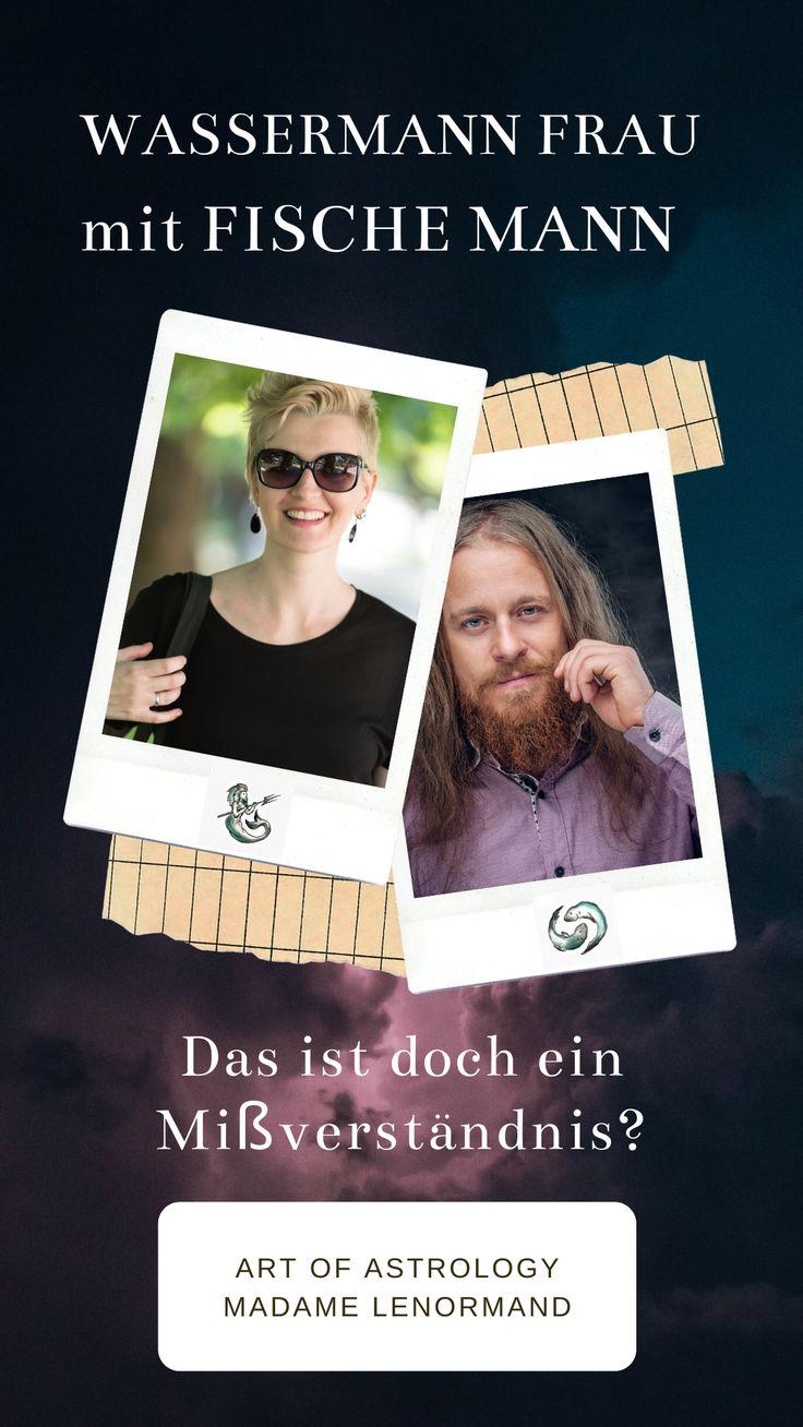 Fische-Mann & Wassermann-Frau | Fische mann, Steinbock