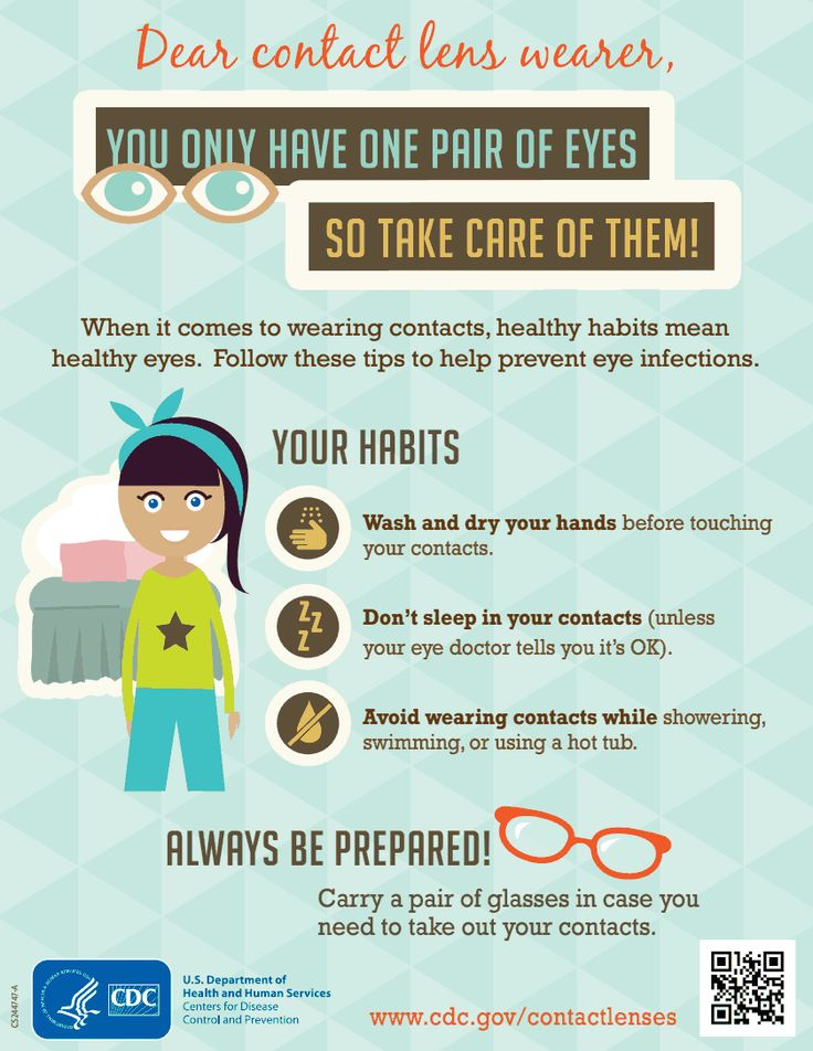 How to Take Care of Your Contact Lenses