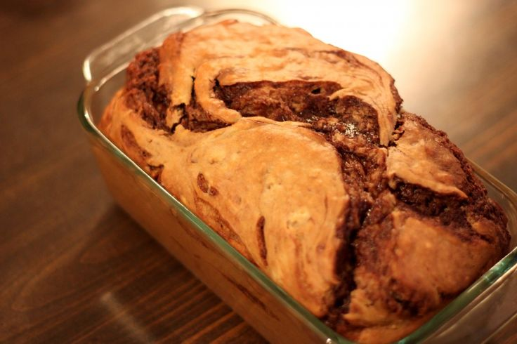 Holy Banana-Nutella Bread: Breads Sweet, Nutella Bananas Breads, Bananas Nutella Breads Why, Nutella Swirls, Breads Recipes, Muffins Tins, Holy Bananas Nutella, Best Bananas Breads, Bananas Chocolates Chips
