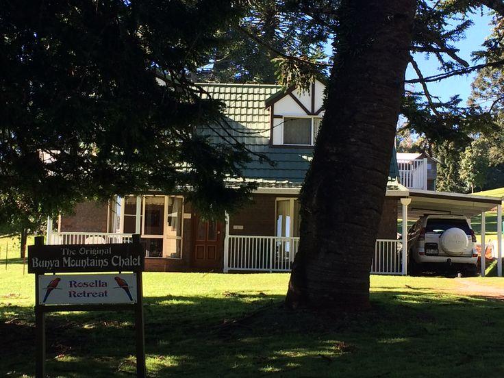 Rosella Cottage at the Bunya's