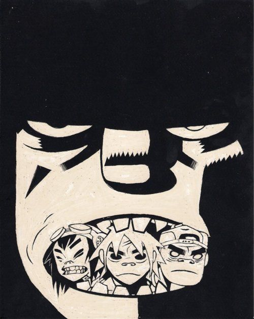 Jamie Hewlett – Gorillaz (music, illustration)