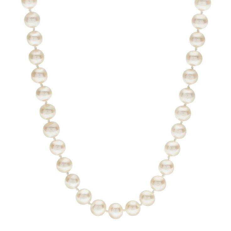 """PearLustre by Imperial 6-6.5 mm Freshwater Cultured Pearl Necklace - 16 in., Women's, Size: 16"""", White"""