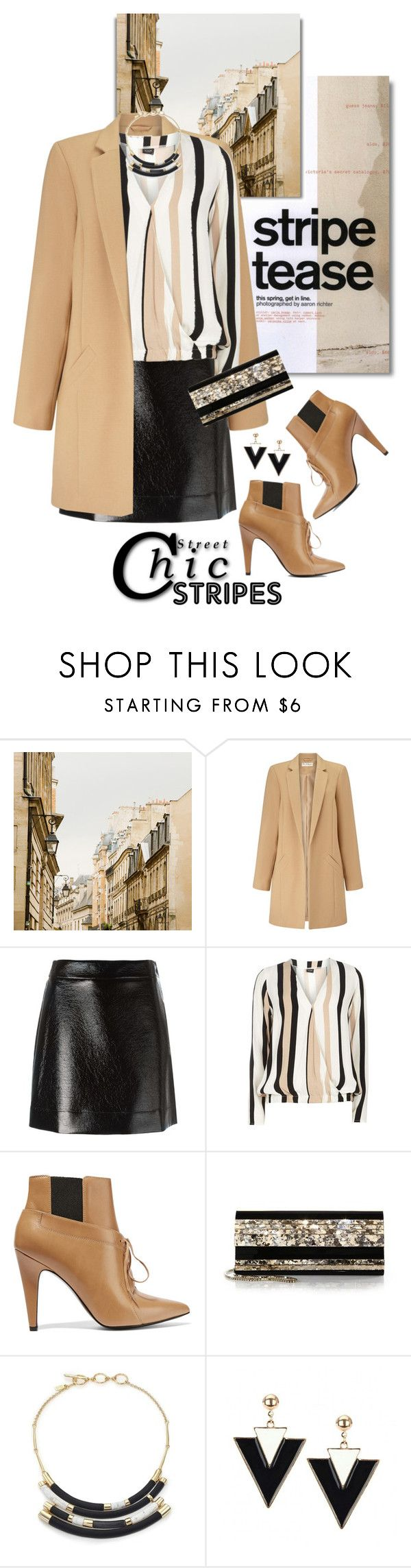 """""""One Direction: Striped Shirts"""" by shortyluv718 ❤ liked on Polyvore featuring Miss Selfridge, MICHAEL Michael Kors, Dorothy Perkins, Alexander Wang, Jimmy Choo, Alexis Bittar and stripes"""