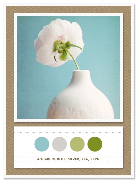 Colors: muted blue and green