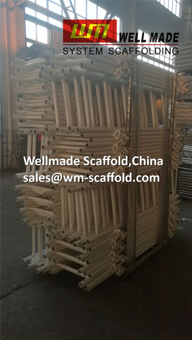 Scaffolding Ladder with Half swivel Clamps toUSA for Frame scaffolding from China high quality OEM manufacturer