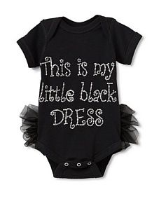Little black dress for my daughter