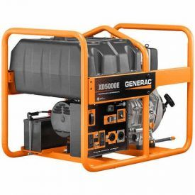This diesel powered portable generator featuring True Power Technology, provides less than 5% total harmonic distortion for clean, smooth operation of sensitive electronics, tools and appliances; ideal for the job site. Designed for Pros, it's equipped with an hour meter to track maintenance intervals, single touch electric start for easy start-up, and a durable fully […]