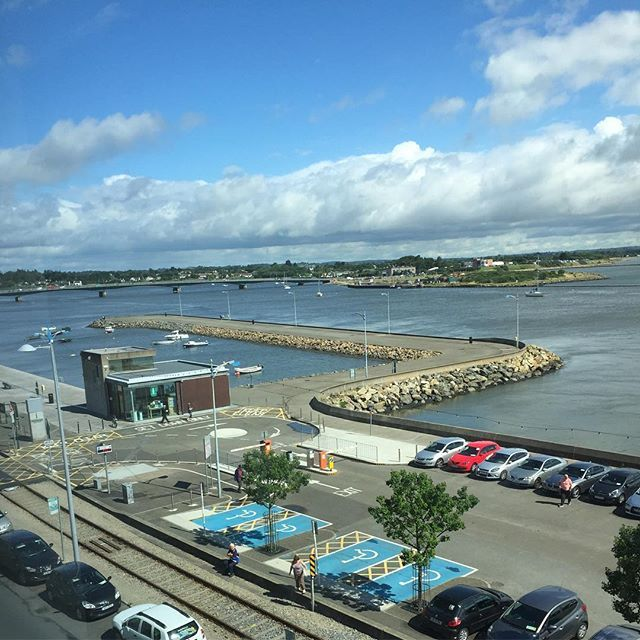 Room with a view! #talbotsuites #wexford #nofilter #view #seaview #location #picturesque #holiday #summer #sun #family #selfcatering #visitwexford #ireland #irelandsancienteast #discoverireland