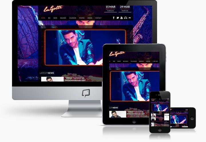 http://www.basicum.es/portfolio-item/diseno-web-musicos-lugotti/ Diseño web Responsive de saxofonista House Lugotti creado por Basicum.es