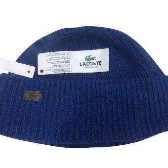Bonnet Homme Lacoste - Reproduction - Bleu