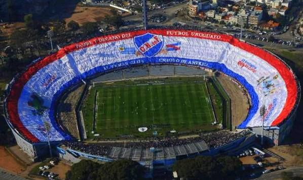 Club Nacional de Football.♥ My pasion. Uruguay nº 1 football club. World's largest flag. Record Guinnes. ♥