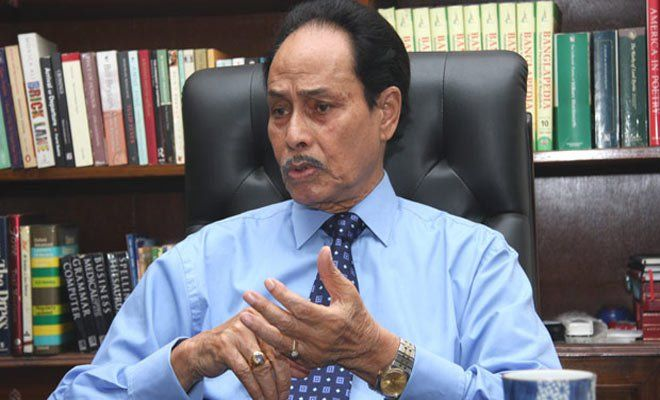 """HM ErshadFormer military dictator and Jatiya Party Chairman has announced that he will form a grand alliance of 30 political parties. """"The government of Sheikh Hasina has been working for the development of the country. Though we have different political ideologies, we are on the same page..."""