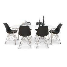 Spisebordssæt i høj kvalitet til billige penge. Køb spisebordssæt her: http://www.myhomelagersalg.dk/spisebordsaet/