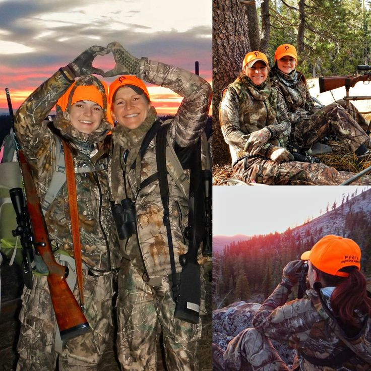 Prois Staffer, Nancy Rodriguez, banks some memories with her niece on a recent hunt! How cute are these two?! #proiswasthere Check out our performance hunting gear for women at www.proishunting.com