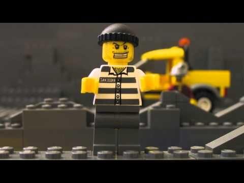 레고® 시티 팬 창작 비디오 - 대형 도둑 사건 - YouTube
