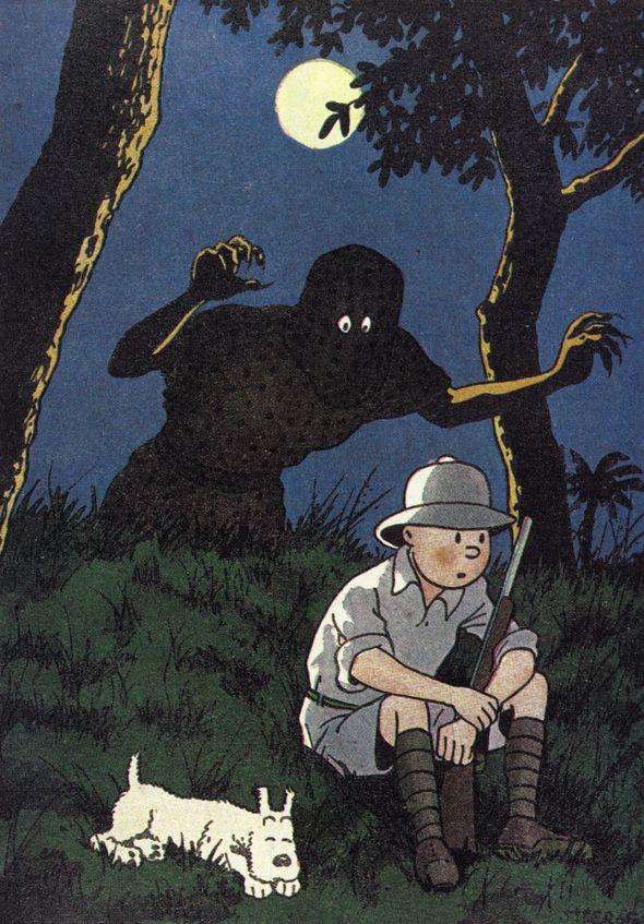 Hergé - Georges Prosper Remi (1907 – 1983). Tintin au Congo, 1931 - 1942. [Pinned 19-vi-2015]