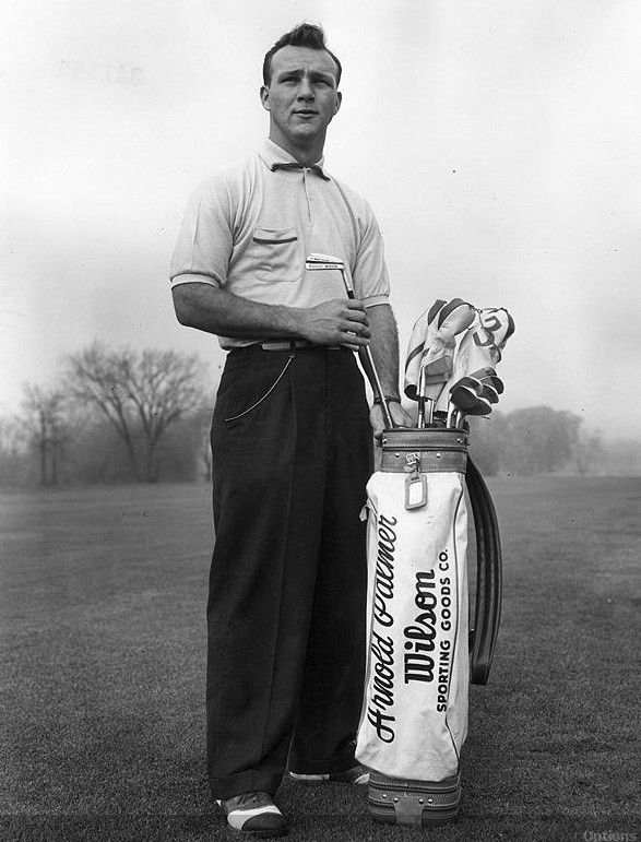 """Success in golf depends less on strength of body than upon strength of mind and character.""~Arnold Palmer"